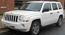 Jeep Patriot Tailored Boot Mat