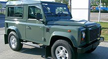 Land Rover Defender Tailored Boot Mat