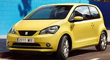 Seat Mii Tailored Boot Mat